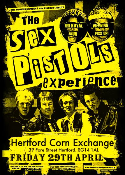 Sex pistols experience tour dates in Auckland