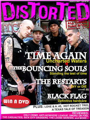 Distorted magazine